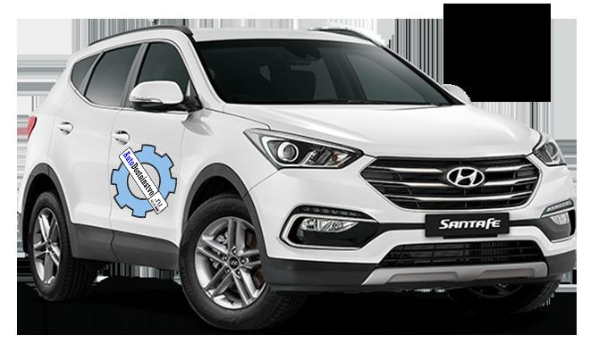 давления и размеры шин Hyundai Santa Fe