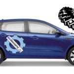 Размеры шин и норма давления в колесах Киа Рио