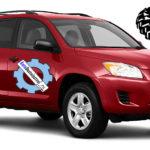 Норма давления в колесах и размеры шин Toyota RAV4