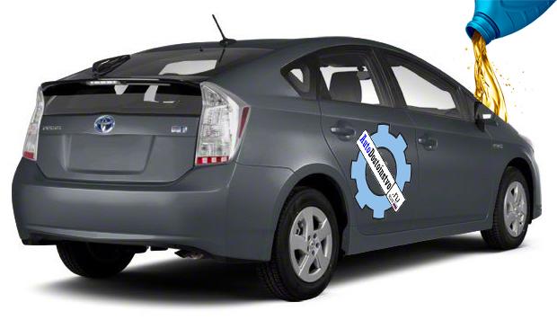 жидкости и масло для Toyota Prius