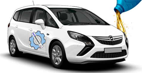 жидкости и масла заливать в Opel Zafira Tourer