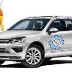 Количество технических жидкостей и масла в Volkswagen Tiguan