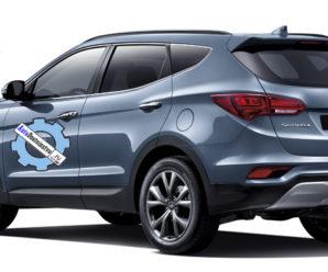 Специальные жидкости и количество заправки масла для Hyundai Santa Fe