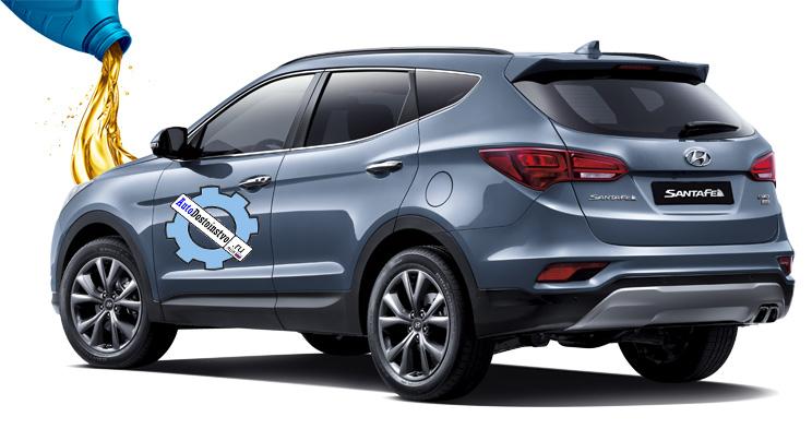 жидкости и масла для Hyundai Santa Fe