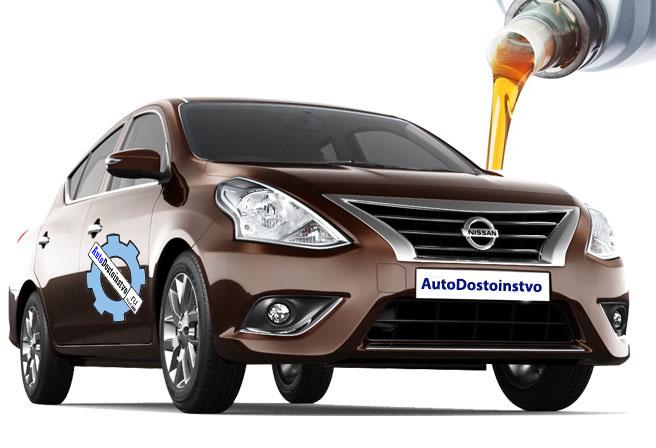 масло и сколько жидкости заливать в Nissan Sunny 3