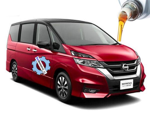 масло и жидкости в Nissan Serena