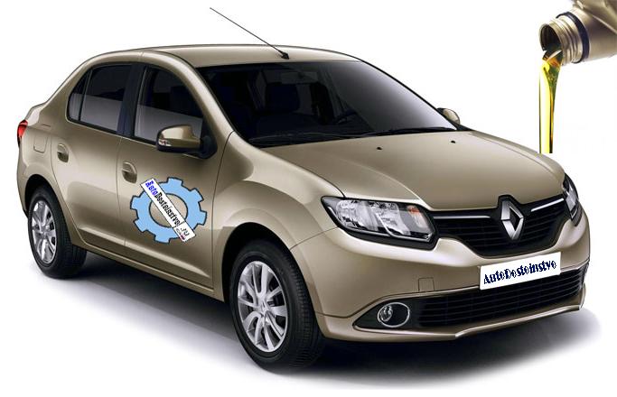 масло и жидкости в Renault Symbol