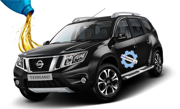 масло в Nissan Terrano