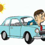 Что делать летом, если нет кондиционера в машине