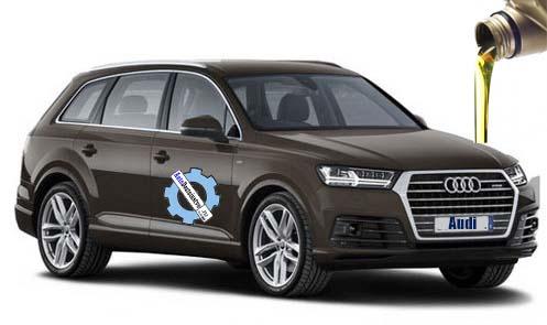 масла в Audi Q7 2