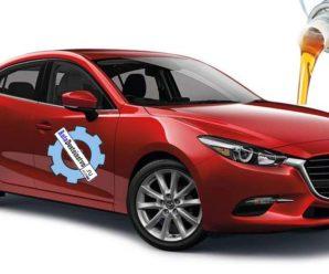 Какое масло и сколько жидкости лить в Mazda 3