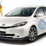 Заправочные объемы и марки ГСМ Тойоты Виш