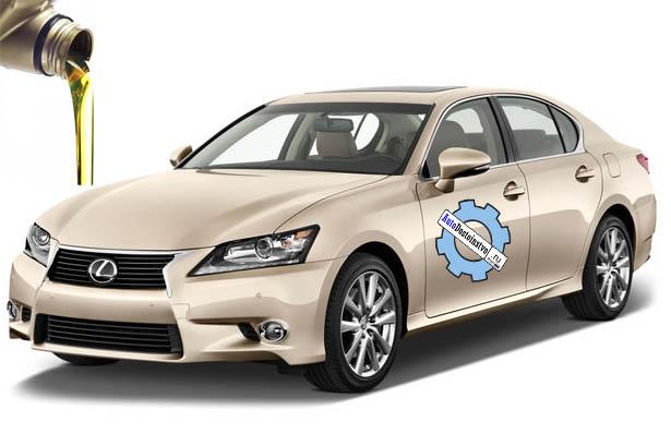 масла в Lexus GS300
